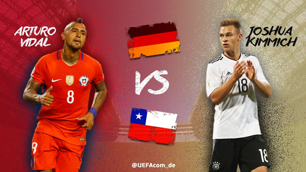 🇨🇱 vs 🇩🇪 @LaRoja vs @DFB_Team  @kingarturo23 vs Joshua Kimmich @FCBaye...