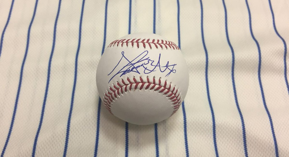 Retweet to win an autographed ⚾️ from @Smatz88.    Rules: https://t.co...