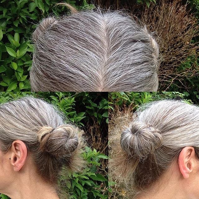 I am #carrie #fisher #new #hairstyle #grey #starwars #forever #silver #updo #47 and loving it <br>http://pic.twitter.com/z4eMzHIF4i