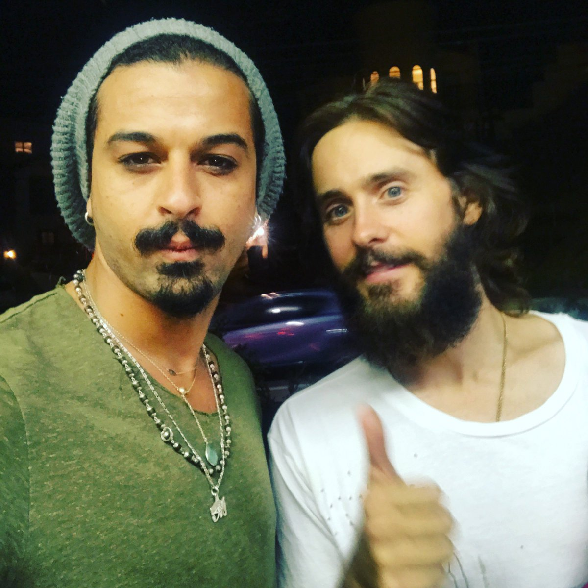 With the great and amazing @JaredLeto #hollywood #jaredleto #showwhight<br>http://pic.twitter.com/mbIPoeVlJo