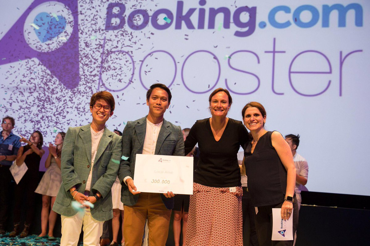 #BookingBooster 300,000€ for connecting more local villages to traveller with #communitybasedtourism #responsibletourism #sustainabletourism <br>http://pic.twitter.com/RyB9Ablg1u