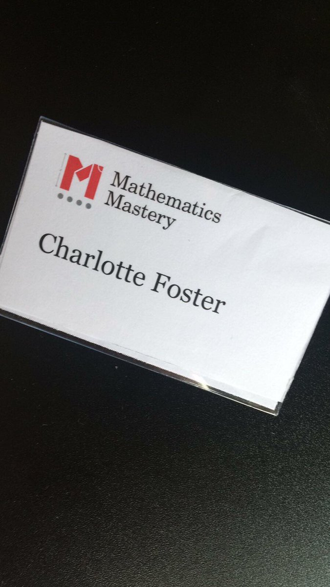 Miss Foster has lead training for staff across the country today. Mr Harrison, Miss McGorry and Mr Tilley have been lucky to attend! #Maths <br>http://pic.twitter.com/VAyTZ0JXFb