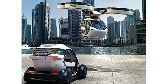 Des avions futuristes pour circuler en ville lejdd.fr/economie/des-a…