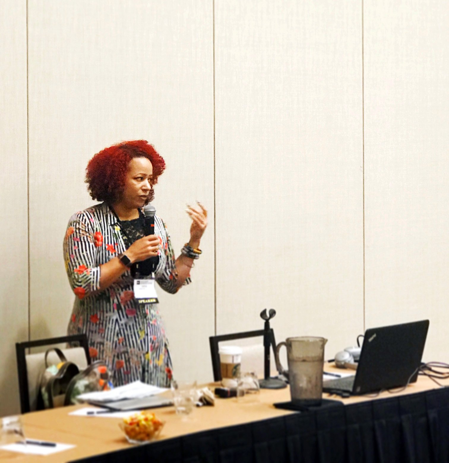 .@nhannahjones on covering race issues: Don't just write about disparities, examine how we got here and who is responsible. #IRE17 https://t.co/XopD6xyIhe