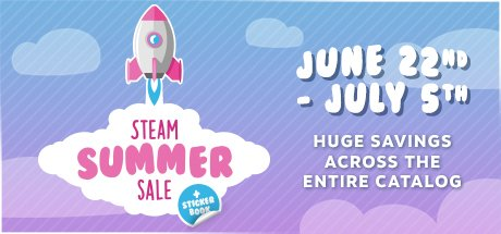 The Steam Summer Sale Starts Now! #SteamSale https://t.co/OpSLzCoDmX https://t.co/AIcNPuYfu3
