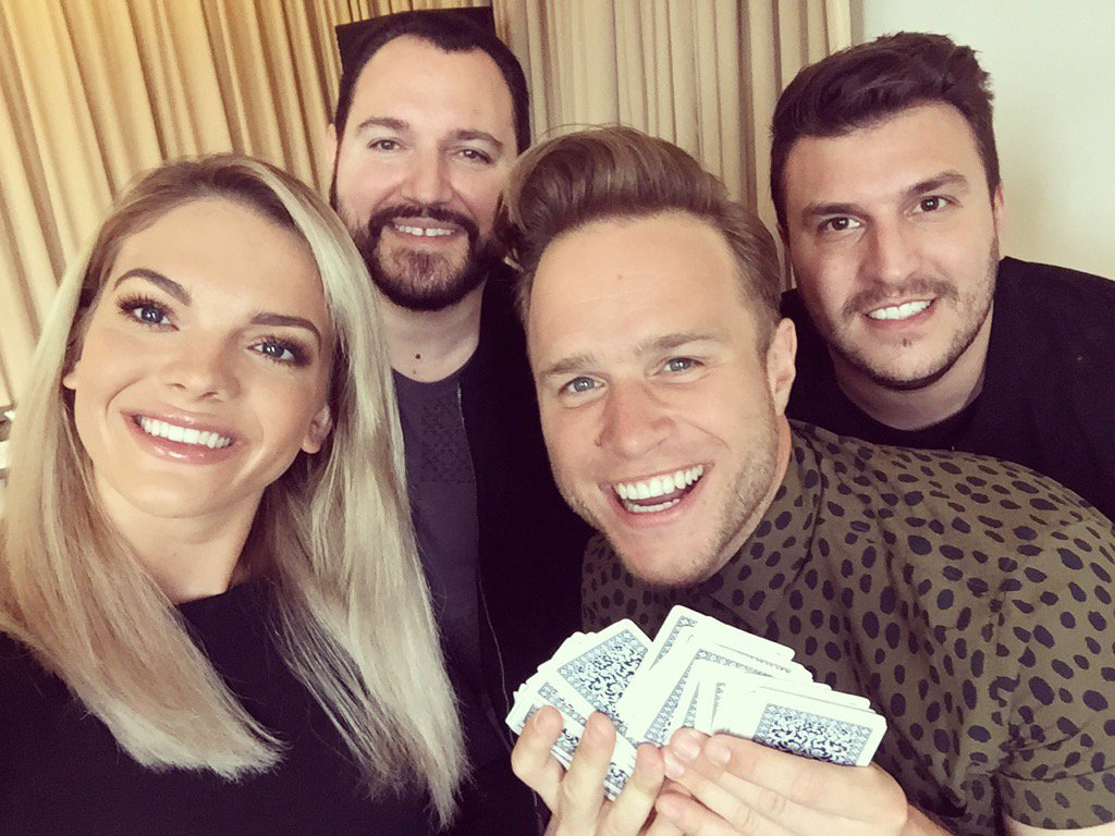 Had great fun filming with @ollyofficial and @louisa today! Full videos to be online soon... #Unpredictable #DNA <br>http://pic.twitter.com/l3OMcOLwEg