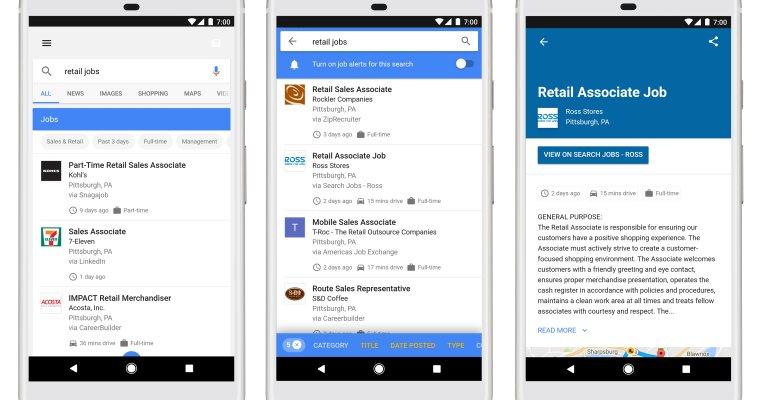 #Google launches its #AI powered jobs search engine #seo #cio #postappera #bigdata -  http:// tcrn.ch/2tTchJS  &nbsp;  <br>http://pic.twitter.com/euSRP9QYx3