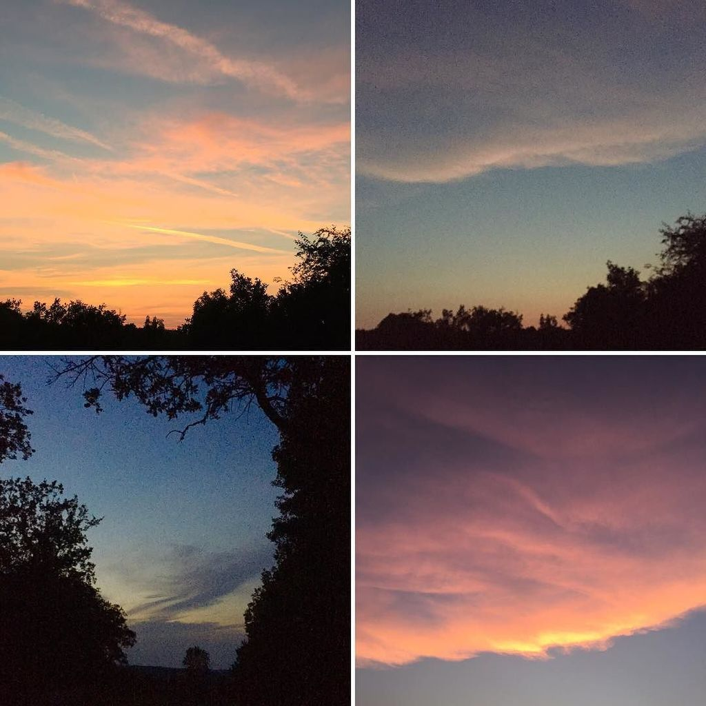Evening sky. Views in all directions #lot #occitanie  http:// ift.tt/2tz5fdR  &nbsp;  <br>http://pic.twitter.com/hjDXFtOmLM