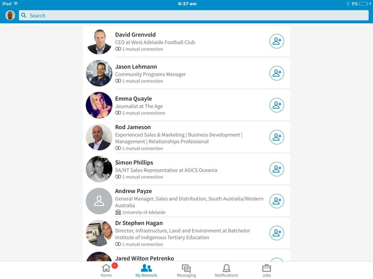 One new LinkedIn connection opens up a whole new world of SA royalty #diamondjim #bucky #oatey #edwards <br>http://pic.twitter.com/HdLOGTswPA