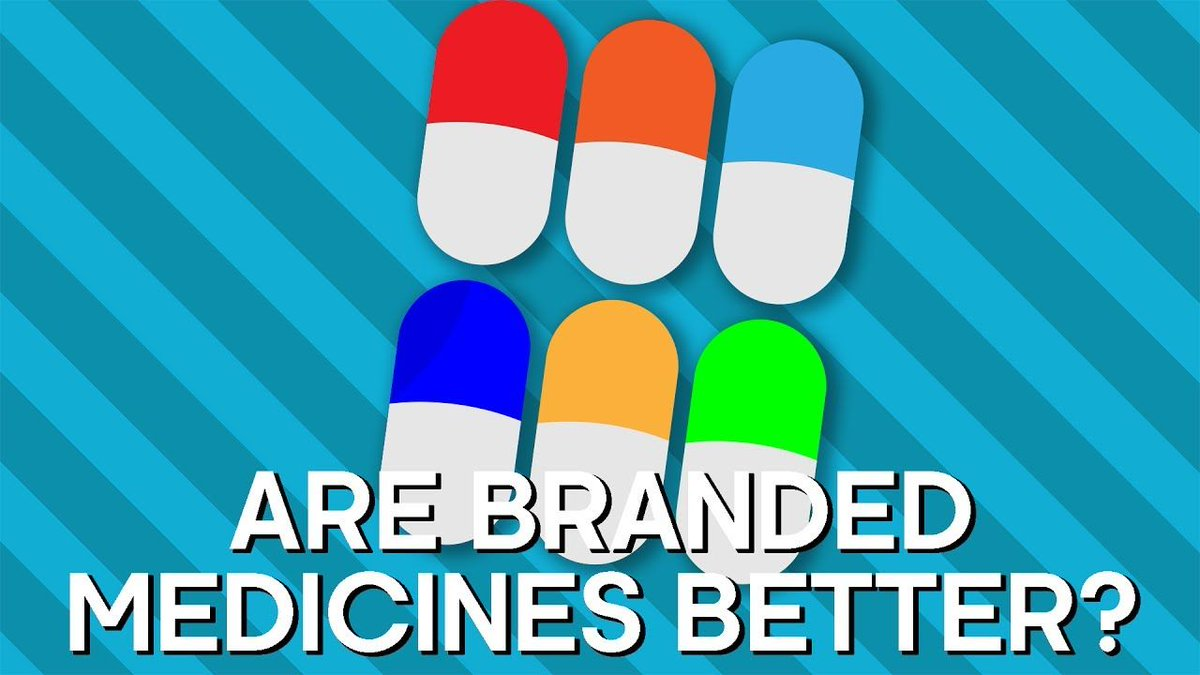 Are Branded #Drugs Better? Earth #Lab  http:// buff.ly/2sUMYKn  &nbsp;   #science #Health #Marketing #pharmacology #Pharmaceutical #chemistry #Biology <br>http://pic.twitter.com/Shl25J3JZ7