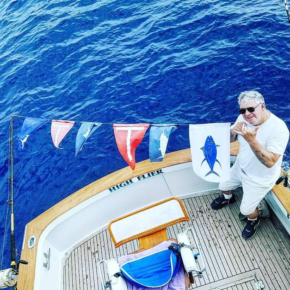 Kona, HI - High Flier released 2 Blue Marlin and a Spearfish. #BillfishADay