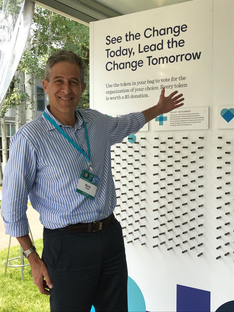Just voted to improve health in CO at @aspenideas. Stop by @RWJF and h...