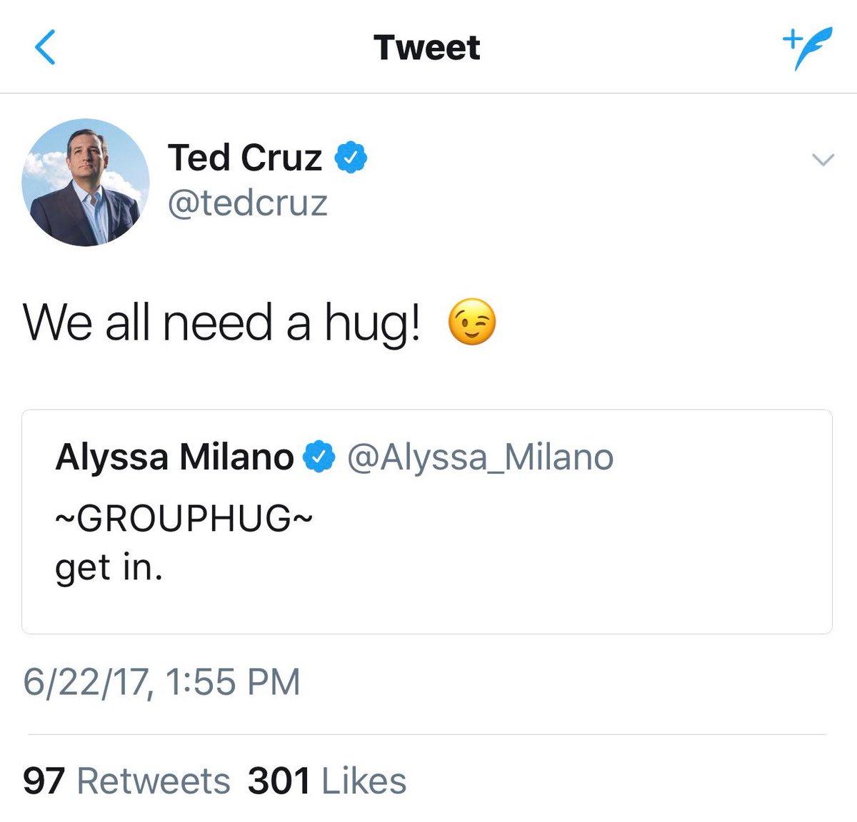 Not you, @tedcruz. You're not invited. 😉 https://t.co/1NTZFvwk9h