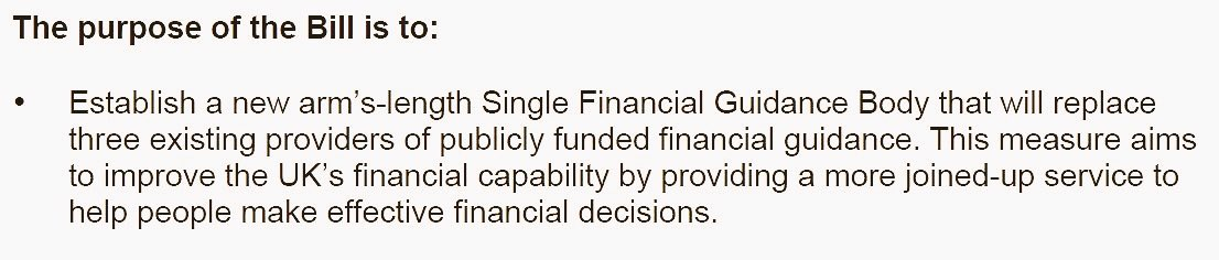 Good news as @DWP publish Financial Guidance +Claims Bill to help consumers with #pensions #debt #financialinclusion  https://www. google.co.uk/amp/www.mirror .co.uk/money/youll-soon-able-advice-any-10659941.amp &nbsp; … <br>http://pic.twitter.com/kULEsK541V