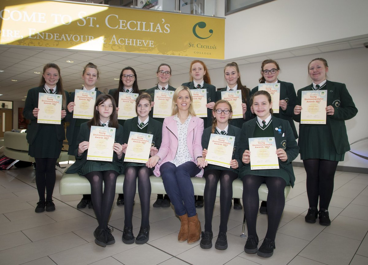 Congrats to our UNESCO Eco Warriors and their fab teacher Mrs Rainey  #aspire #endeavour #achieve<br>http://pic.twitter.com/Qjxob1Zngg