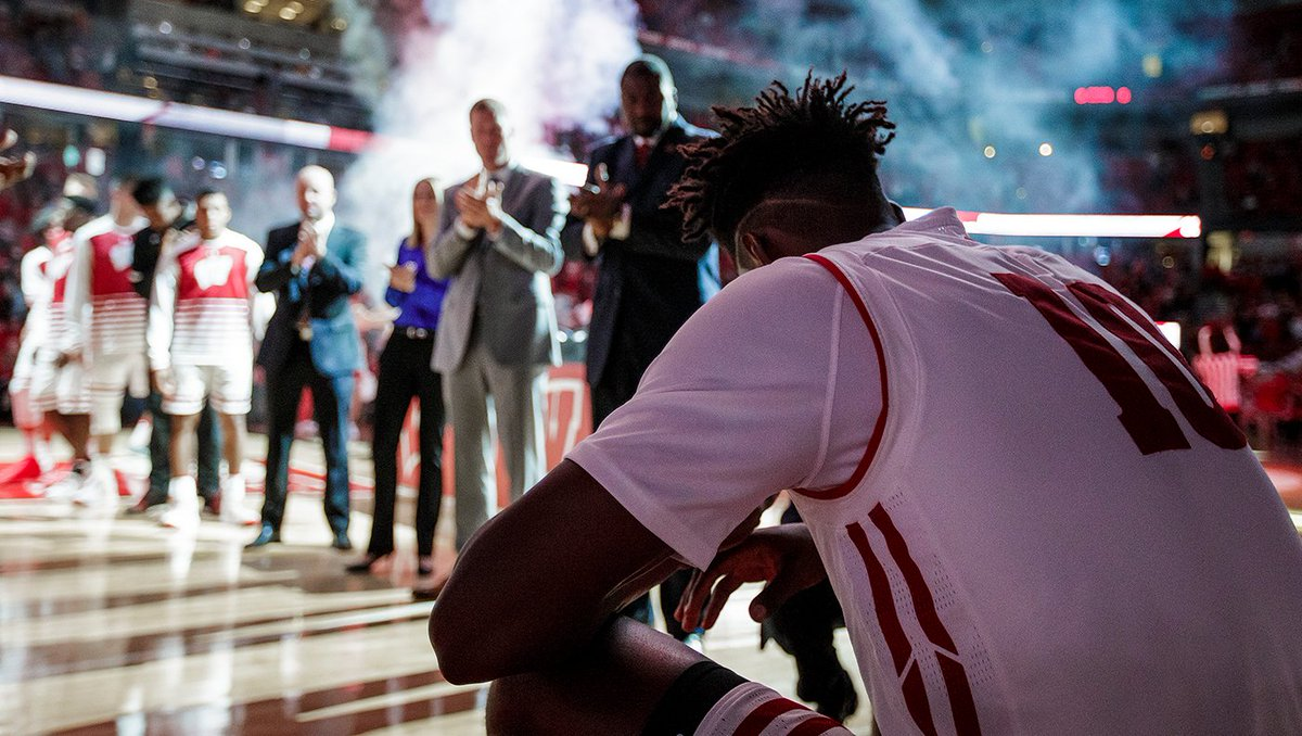 .@NIGEL_HAYES never missed a game in his #Badgers career.  150 straight. #IronMan   Only needs a shot. #NBADraft<br>http://pic.twitter.com/H6ChFfHeyz