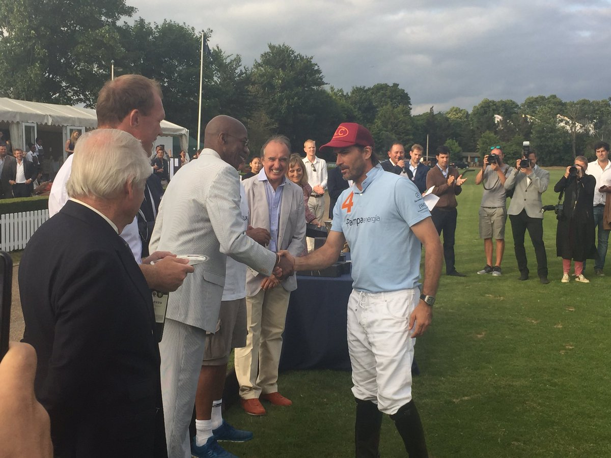 Great to have the best Polo player in the world Adolfo Cambiaso with u...