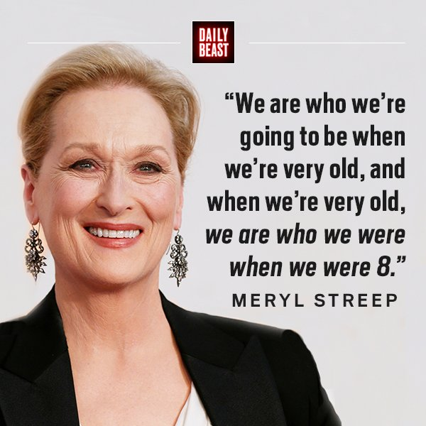 Happy birthday to the OG, Meryl Streep