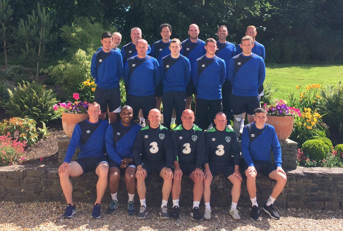 UEFA &#39;B&#39; Licence group at the end of another day @FotaIsland @FAICoachEd including Internationals Paul Green &amp; Clinton Morrison #coaching <br>http://pic.twitter.com/ztQWobxPwW