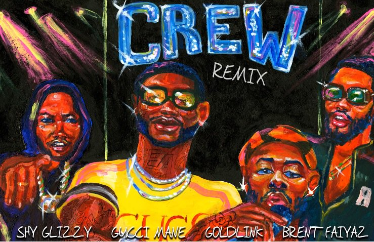 .@Gucci1017 puts his trap stamp on @Goldlink's 'Crew (Remix)' https://...