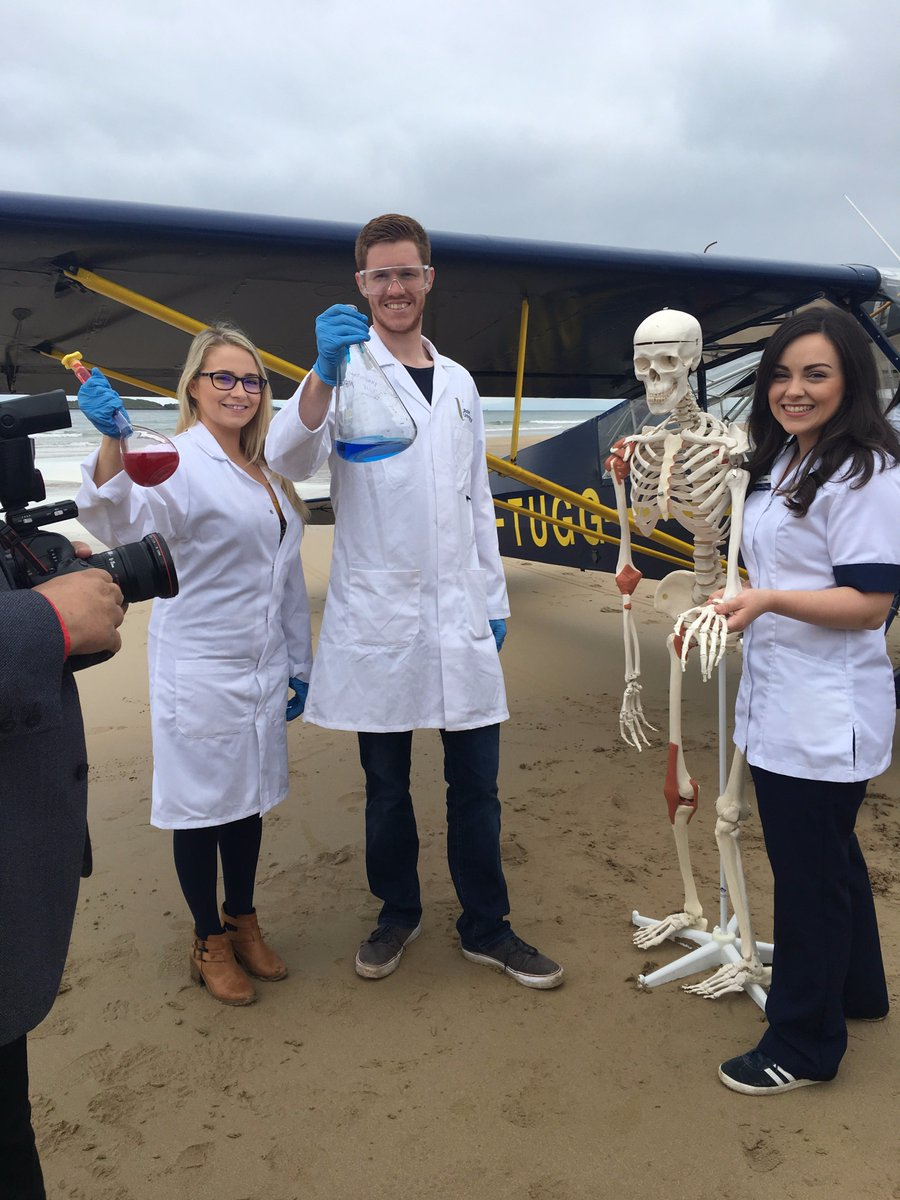 We had great fun @PortrushAirshow&#39;s photoshoot on East Strand today - Looking forward to #STEM Village Marquee 2-3 Sept! #AirwavesPortrush<br>http://pic.twitter.com/pXPU9k3hoe