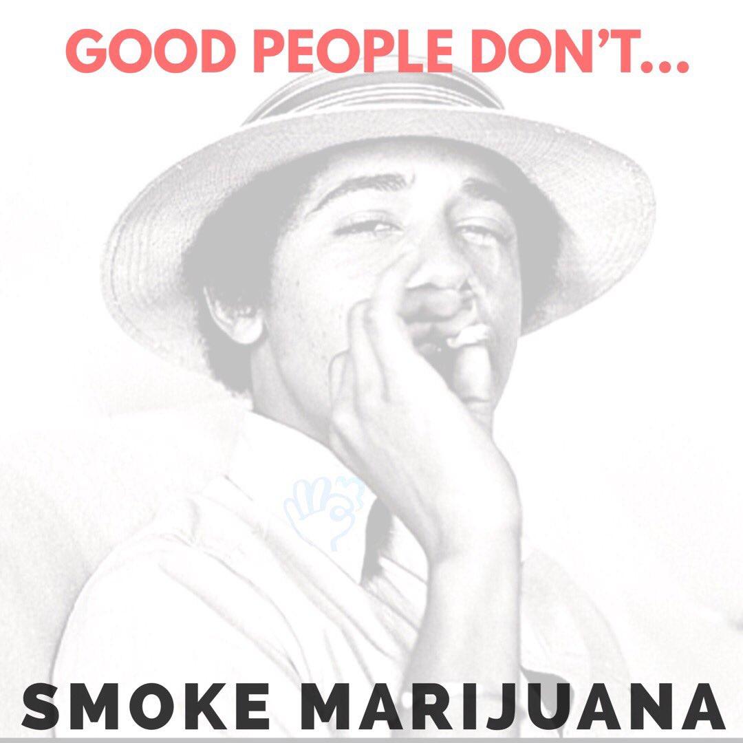 &quot;Good people don&#39;t smoke marijuana ...&quot; Jeff Sessions, USAG  #dontbelievethehype #cannabis #marijuana #smokesessions #barackobama #buddyjane<br>http://pic.twitter.com/AclWwKXl1I