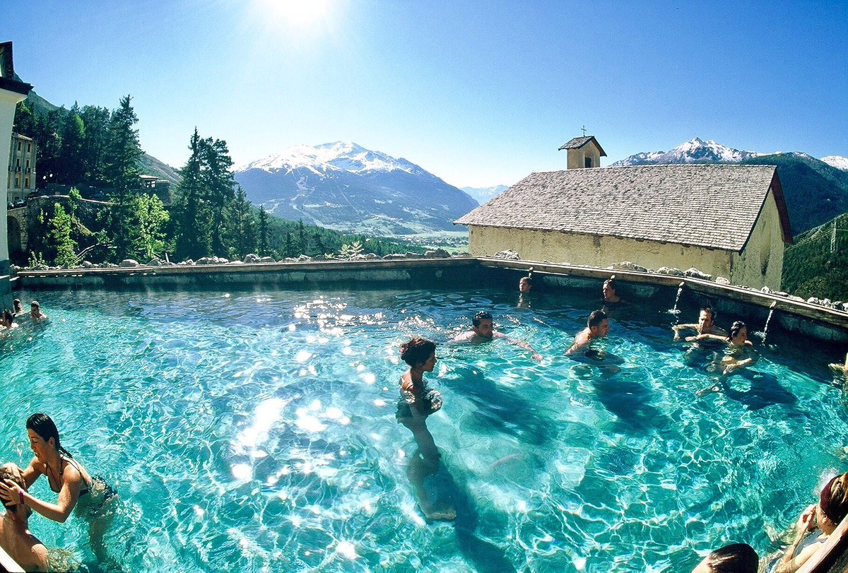 Relax ! Fancy of a #SPA treatment while admiring the #Italian #Alps ? #BORMIO is the answer ! Warm natural thermal water 38&#39;-40&#39; C <br>http://pic.twitter.com/CqHB7WpN8z