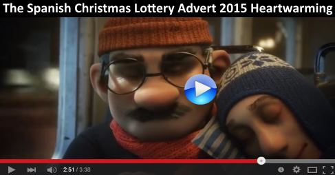 The Spanish Christmas Lottery Advert 2015 Heart Warming https://t.co/vQv9QLcsKJ The long awaited advert #video 2