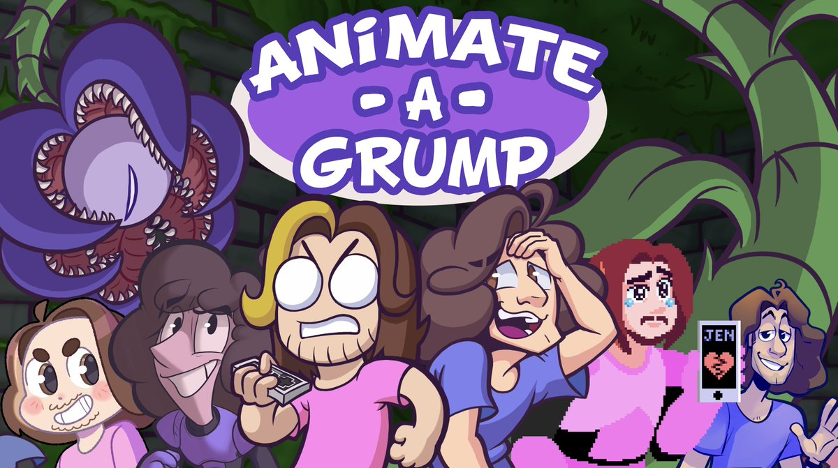 ludo on twitter animate a grump a collaborative project between