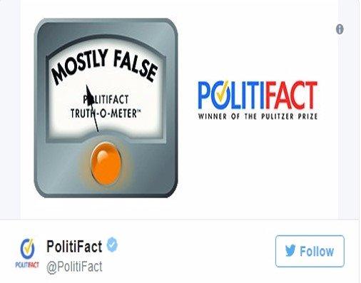 Noted 'Fact Checker' ignites social media BACKLASH when caught posting biased tweet https://t.co/V1v69n8P0M #tcot #MAGA