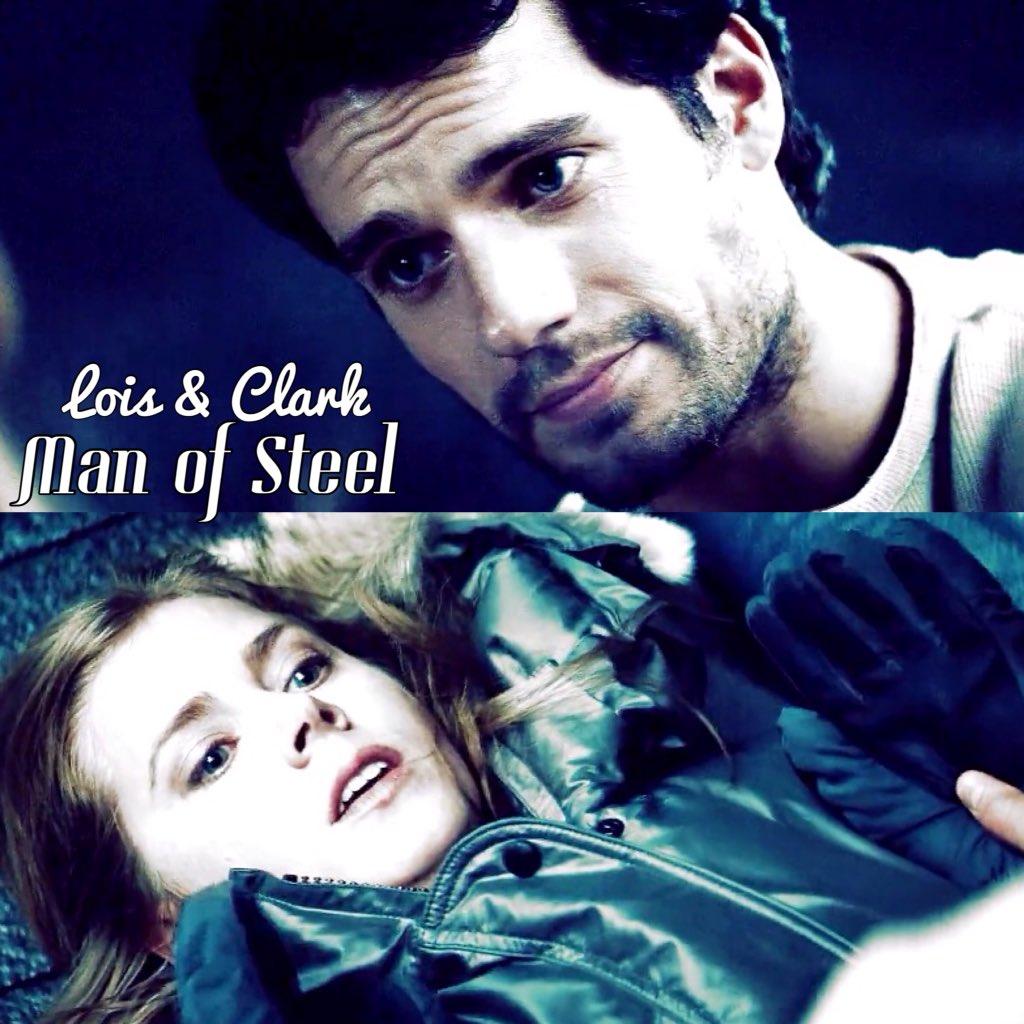 Lois & Clark's first meeting in #ManOfSteel #Clois #HenryCavill #A...