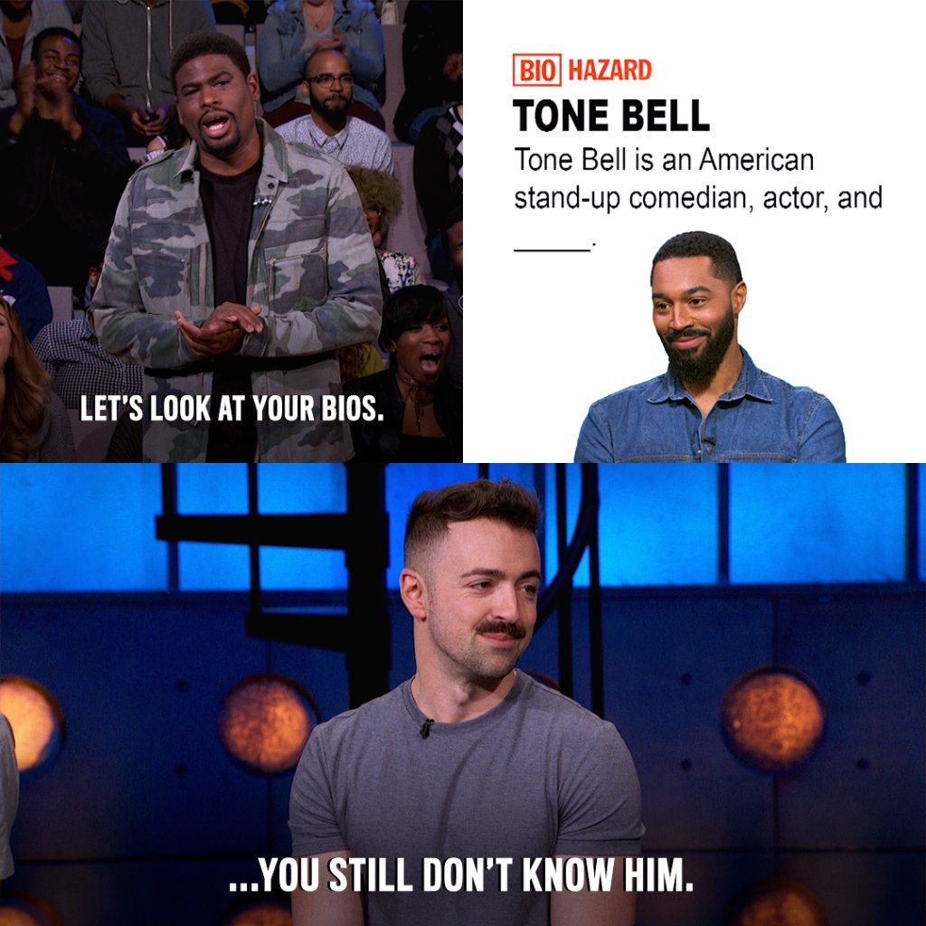 America's sweetheart @toneBell gets some buzz on tonight's all-new #Co...