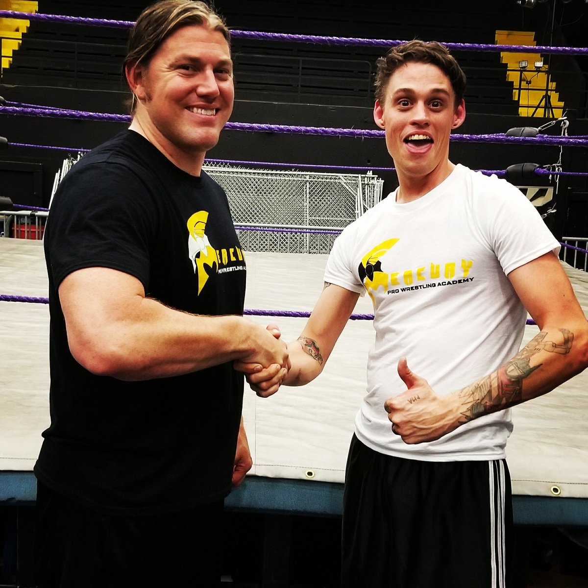 We are happy to welcome our newest #ProWrestling student Evan Perry to #MPWA! #Training #School #Athletics #Fitness #Golden #Colorado<br>http://pic.twitter.com/HwdfgWwMw2
