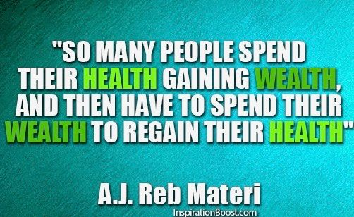 So many people spend their health... #Wellness #Wellbeing<br>http://pic.twitter.com/MScGDSNnO7
