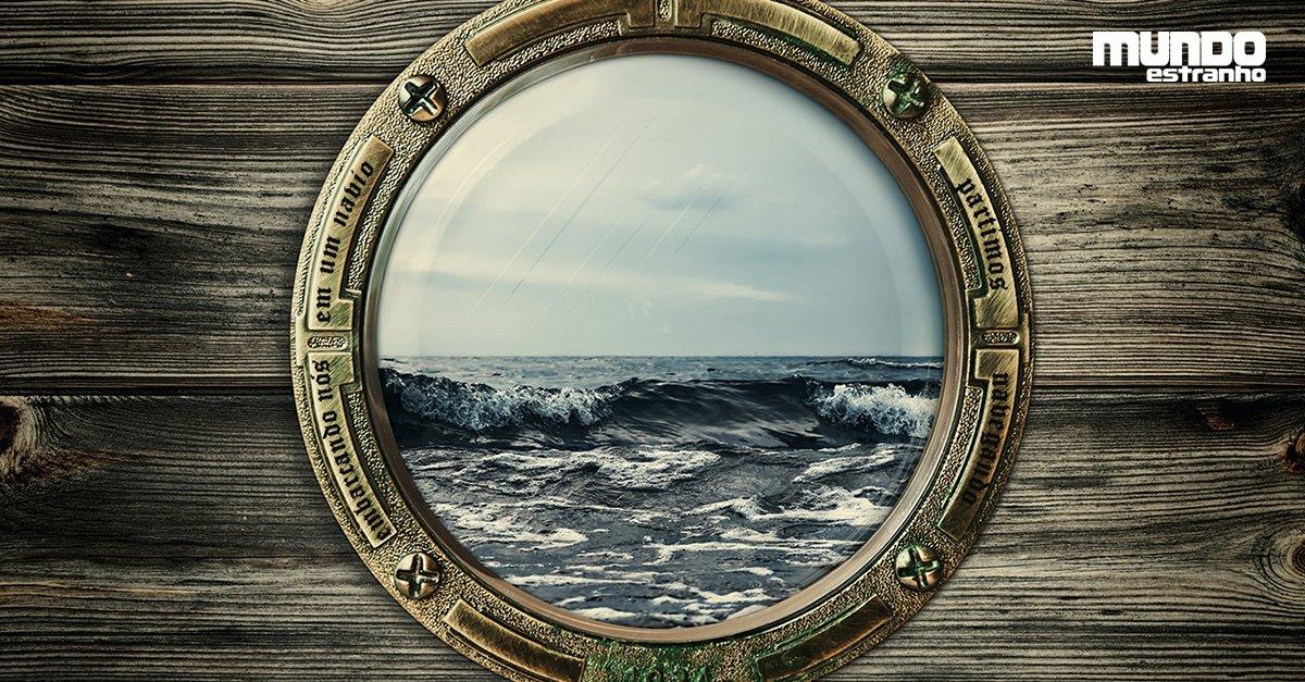 Por que as janelas dos navios são circulares? https://t.co/utut8d02wb
