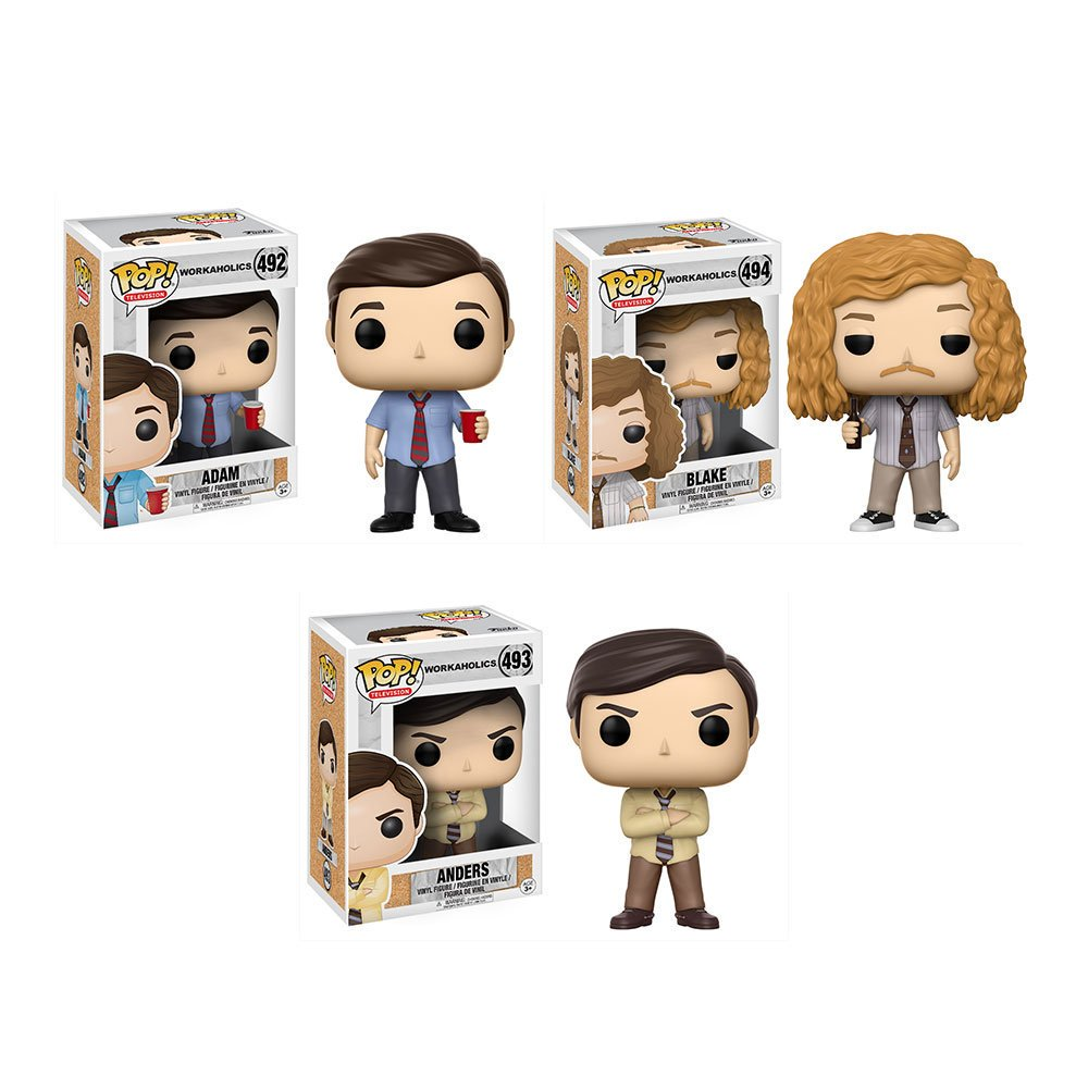 RT & follow @OriginalFunko for the chance to win a Workaholics Pop...