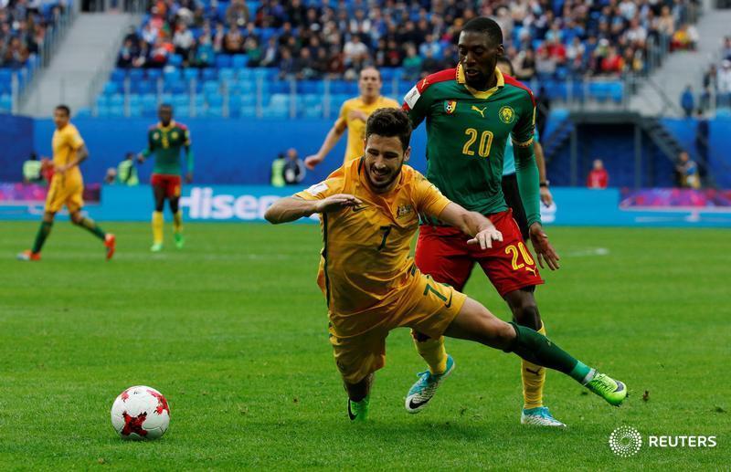 Video: Cameroon vs Australia