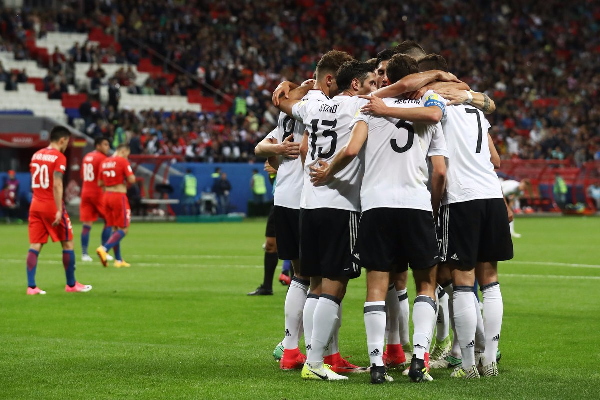It's all to play for in this second half. Let's go, #DieMannschaft! 🇩🇪...