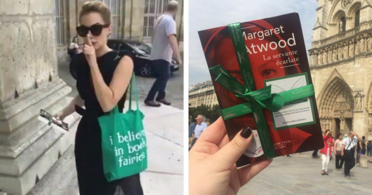 Emma Watson está escondendo exemplares de 'O Conto de Aia' por Paris https://t.co/HLsNcyQjyW
