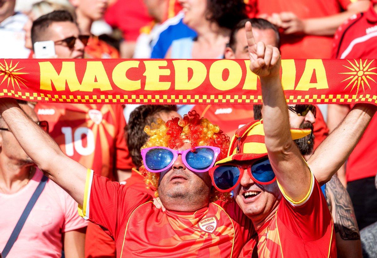 Macedónia avisa Portugal: «A França está a ver o Euro pela televisão» https://t.co/6moxyp7TkT