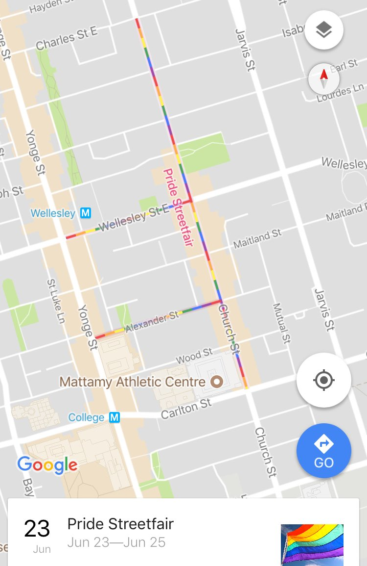 Google Maps in Toronto right now! https://t.co/owWuChgg1y