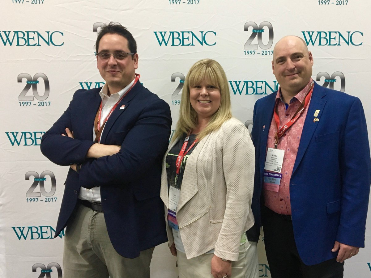 Experience is attending #WBENC2017 in Las Vegas, with a large delegation of #CND #female founders, to expand its presence in USA.<br>http://pic.twitter.com/IaFWt28OSj