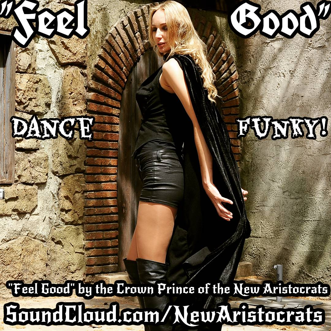 Shake it up, ladies! &quot;Feel Good!&quot; to this&gt; http://www. SoundCloud.com/NewAristocrats /feel-good &nbsp; …  #shakeit #shakeitup #ladies #groove #funky #dance #funk #FeelGoodThursday<br>http://pic.twitter.com/OFXOoNXflo