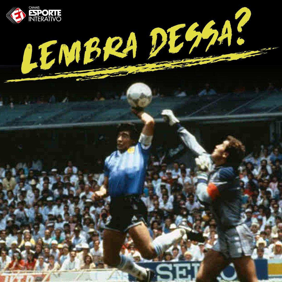 Há 31 anos, Diego Maradona entrava para a história das Copa com a Mão de Deus.  O que você acha sobre esse lance?