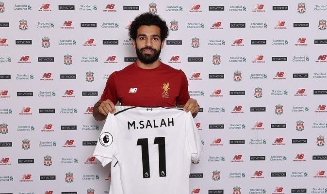 Billedresultat for mohamed salah join liverpool