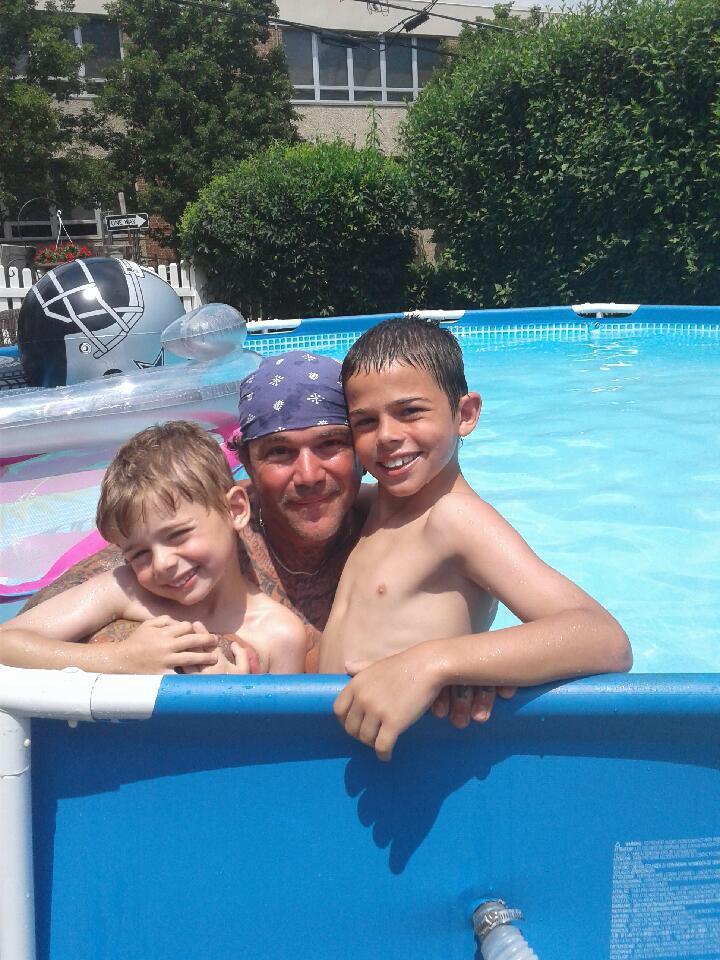 A good swim at #billieJeanPool thanks sis! #teamShay #squirrel #billie <br>http://pic.twitter.com/IDjaBZskNB