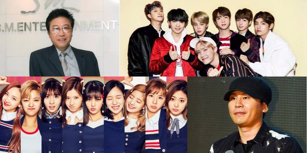 CEOs from 32 top entertainment agencies vote for the best K-Pop boy/girl group, producer, and more https://t.co/ch3u7S75e5