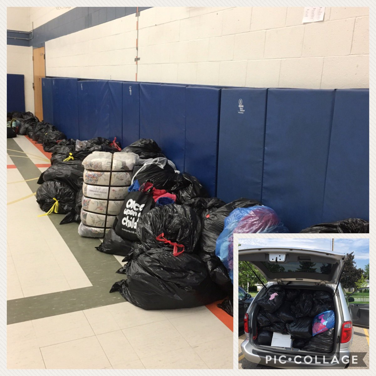 Well done Grenoble for your support! Loads of clothing in bags donated to Diabetes Canada! @grenobleps @PeelSchools #diabetes <br>http://pic.twitter.com/R8mEpQAXEW