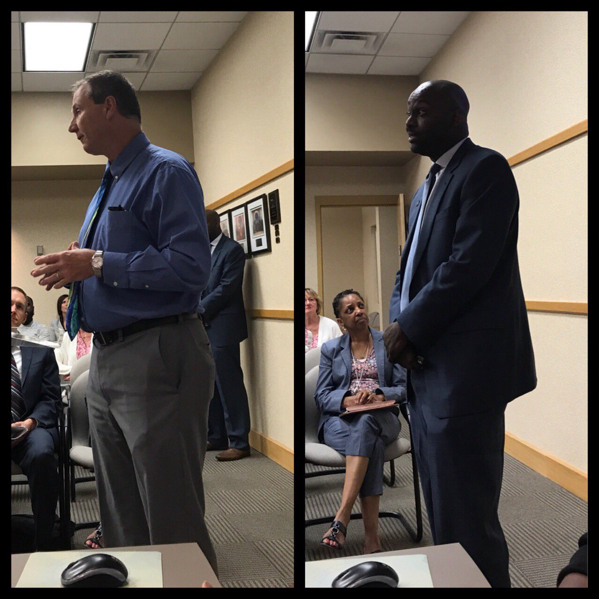 The passion lit up the room! The impact of @ympmentoring is priceless @CoachJimmyJ @roykdobbs Thanks for leading with PURPOSE!#lifechanging <br>http://pic.twitter.com/x8IO6GdVrd