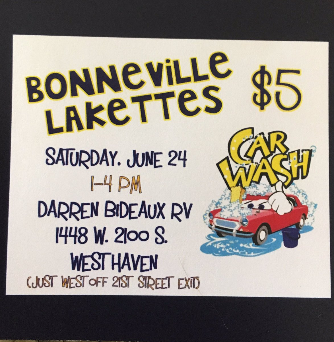 Come support your favorite drill team at Darren Bideaux RV this Saturday 1-4 pm! We&#39;d love to see you there!  #L4L <br>http://pic.twitter.com/SzpAvdgQwa